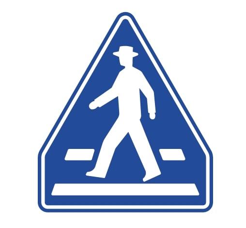 交通上の規制・指示を示す標識